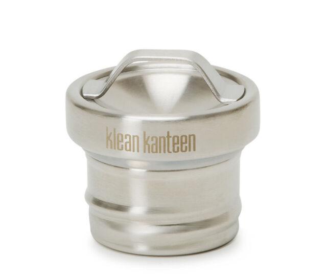 Klean Kanteen | Bottle Loop Cap | Stainless / Black / Green