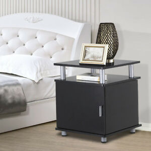 Night-Stands-Bedside-End-Table-Sofa-Chair-Side-Table-Cabinet-Nightstand-Storage