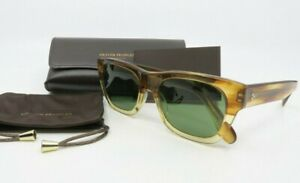 Oliver Peoples OV5418SU 167452 54mm Keenan Honey// Green Sunglasses with case