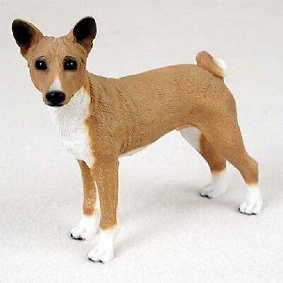 BASENJI Dog ANGEL Ornament HAND PAINTED FIGURINE Resin Christmas COLLECTIBLE New
