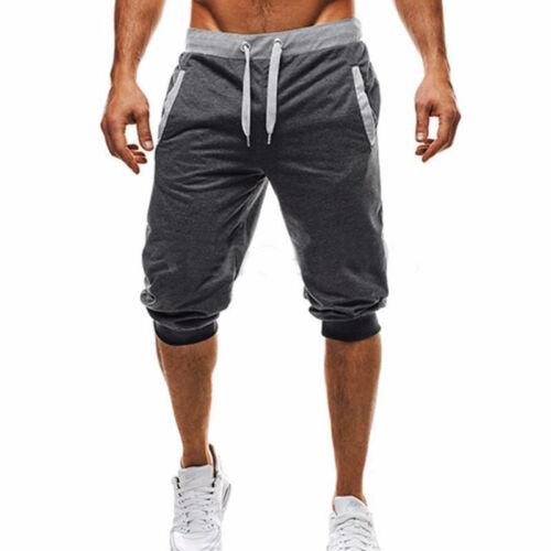 Uomo Pantaloni Tuta Estivo Casual Shorts Corto Sport da Jogger Fitness