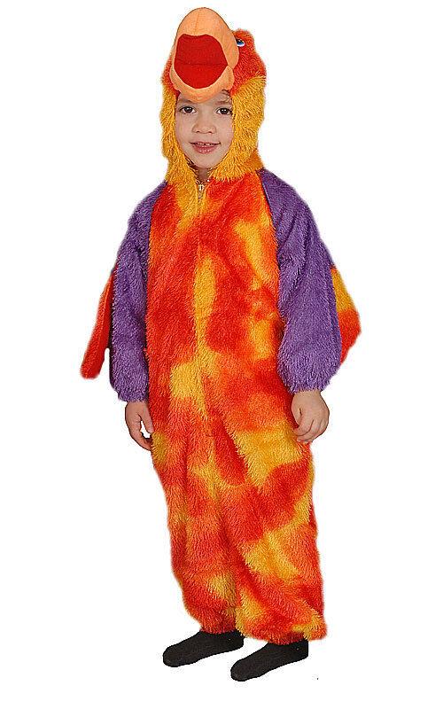 Loud Little Parrot Costume Set Fancy Dress Mascot