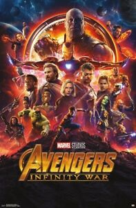 AVENGERS-INFINITY-WAR-ONE-SHEET-MOVIE-POSTER-22x34-MARVEL-COMICS-15238