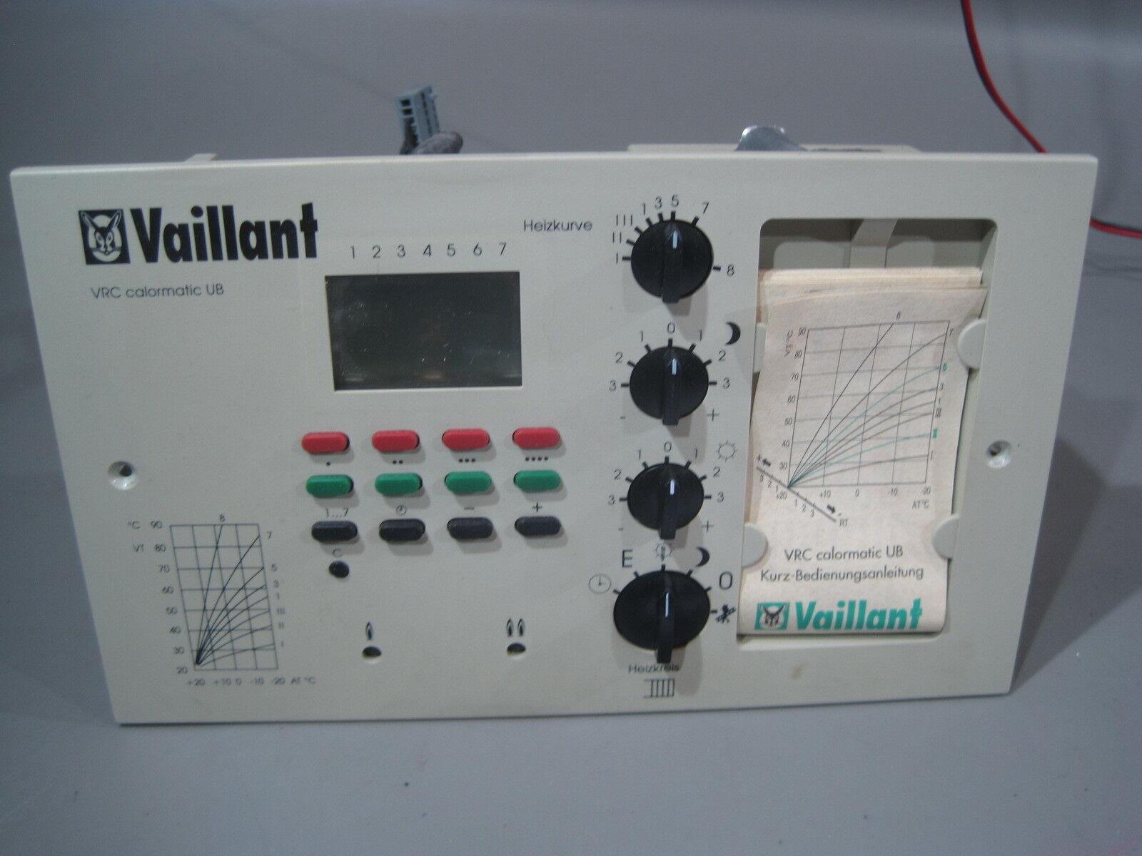 Heizung Steuerung. Steuerung. Steuerung. Vaillant Calomatic UB  (14) 7f47b3