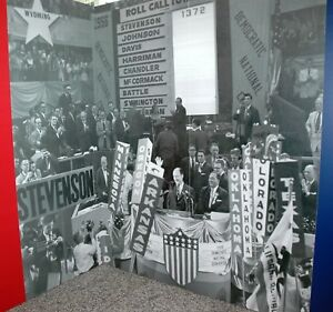 Chicago-1956-Democratic-Convention-original-signed-Giclee-photograph-by-Arnold