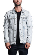 2e638975630 item 1 NWT Victorious Men s Wash Distressed Denim Jean Jacket -DK100- II7C -NWT  Victorious Men s Wash Distressed Denim Jean Jacket -DK100- II7C