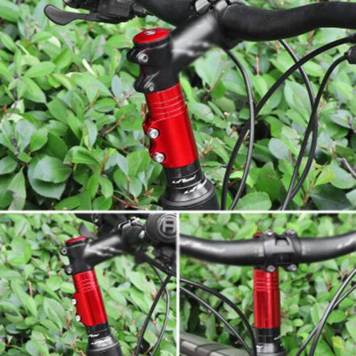 Adjustable Stem Extender Bicycle MTB Riser Adapter Replacement Handlebar Parts