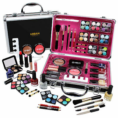 Professional Vanity Case Cosmetic Make Up Urban Beauty Box Gift Set 57 Piece