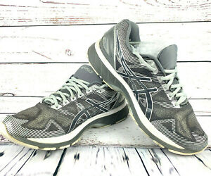 sale retailer 4ec15 d1610 Details about ASICS GEL-Nimbus 19 MENS RUNNING SHOES Silver/ Gray/ White  T702N Size 9.5 4E