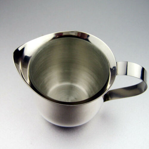 Stainless Steel Milk Frothing Jug Frother Pot Cup Coffee Latte Container Pitcher