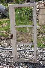 altes Holz Sprossenfenster Fenster Holzfenster Shabby 97x42cm Fensterrahmen Nr12