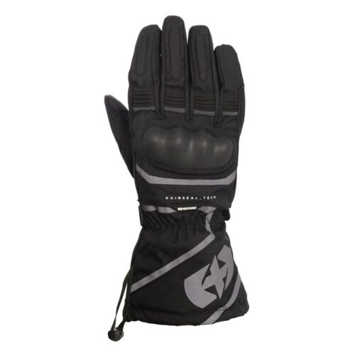 Oxford Montreal 1.0 Mens Motorbike Motorcycle Gloves Knuckle Protection Black