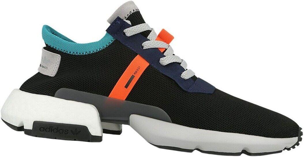 adidas POD-S3.1 Turnschuhe Gr. 36 2 3 36,5 Sport Freizeitschuhe Schuhe Schwarz NEU