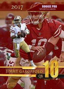 2017-JIMMY-GARAPPOLO-VERY-PRO-ROOKIE-FIRST-ROOKIE-CARD-SAN-FRANCISCO-49ERS