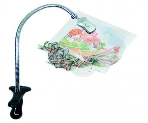CFPL 01 PureLite Energy Saving clip on Craft Magnifying Light Lamp