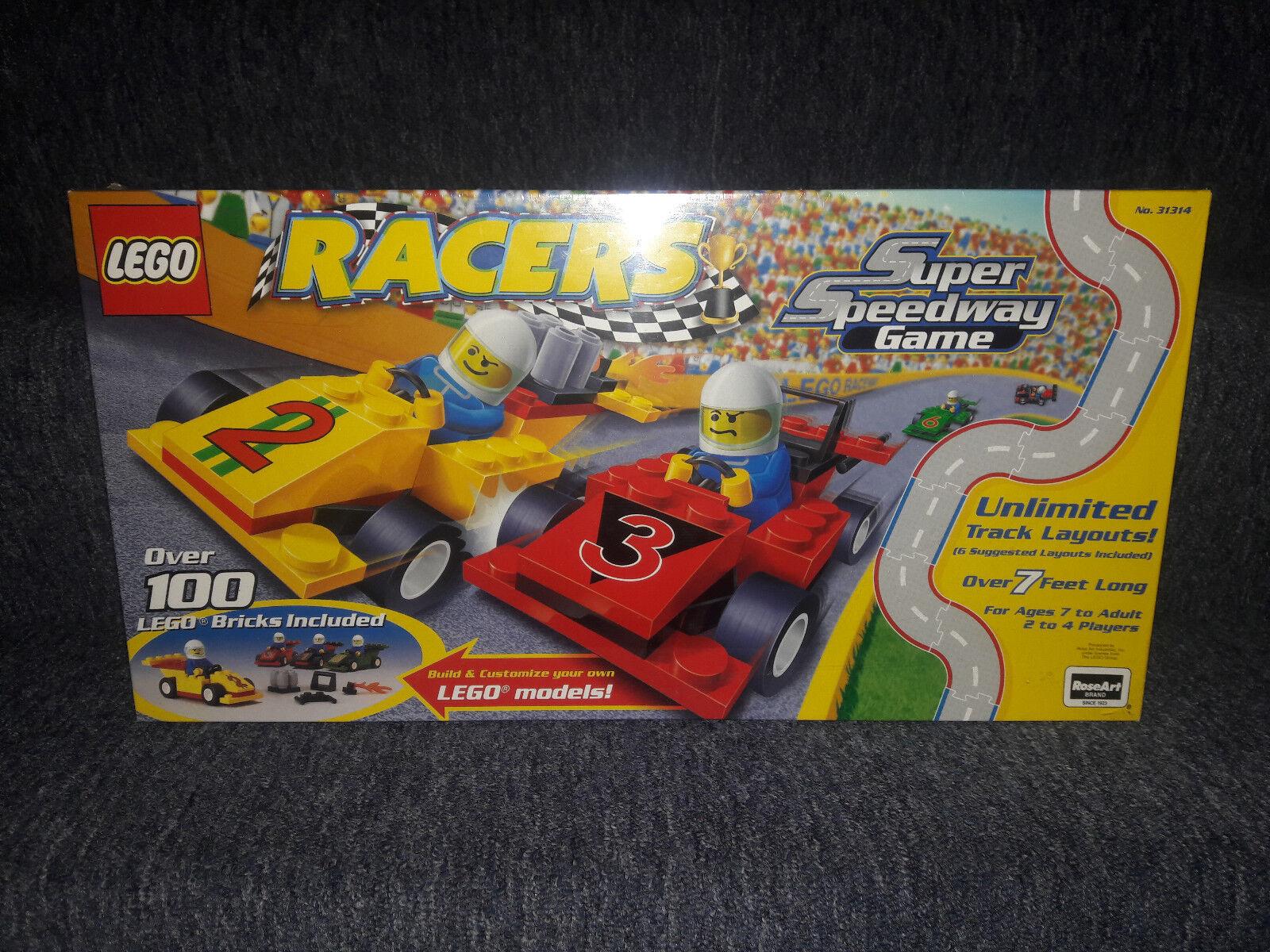 Lego; Racers Super Speedway gioco, No. 31314; sealed, unopened   spedizione gratuita!
