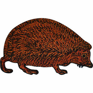 Embroidered-Hedgehog-Iron-On-Patch-Sew-On-Badge-Cloth-Animal-Embroidery-Applique