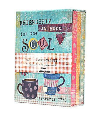 Home Arts & Crafts Motivated Friendship Is Good For Soul Journal Set Agreeable To Taste Crafts