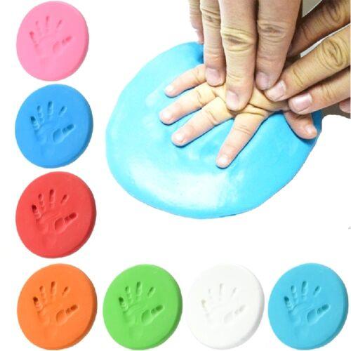 Baby Luft trocknen weichen Ton Handabdruck Fußabdruck Impressum Mode Stil U9E9