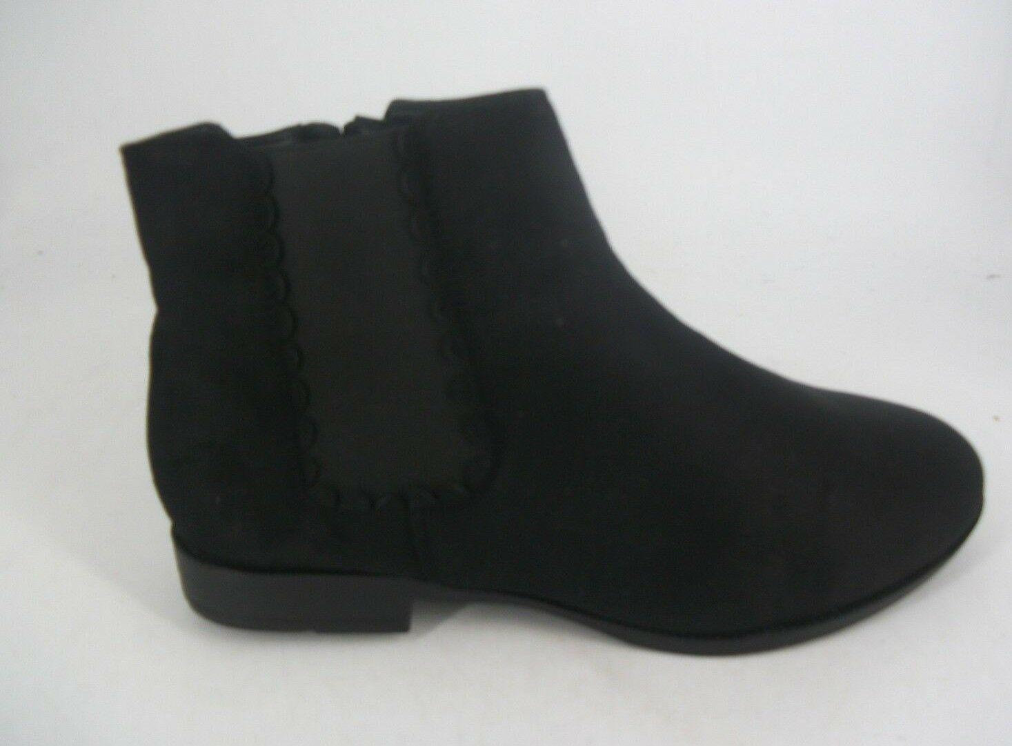 Evans AISHA Black Extra Wide EEE Fit Ankle Boots UK 6 EU 39 LN091 AC 09