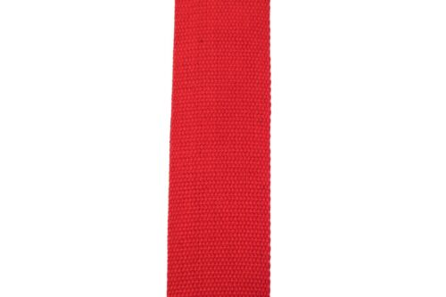 Red Cotton Guitar Strap with Pick Holder 3 x Free Picks Plectrums kids school UK