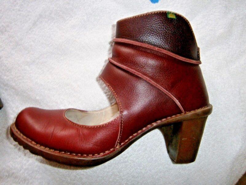 Freundschaftlich El Naturalista Pumps / Stiefel / Ankle Boots Gr. 39 Modern Und Elegant In Mode