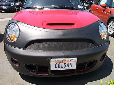 Fits Mini Cooper S 2014 2015 W//O Lic Plate 2Door Colgan Front End Mask Bra 2pc