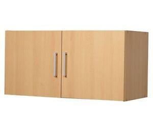 h ngeschrank buche 80cm breit aufsatz f r alle funktionsschr nke 80 x 40 x 39cm ebay. Black Bedroom Furniture Sets. Home Design Ideas