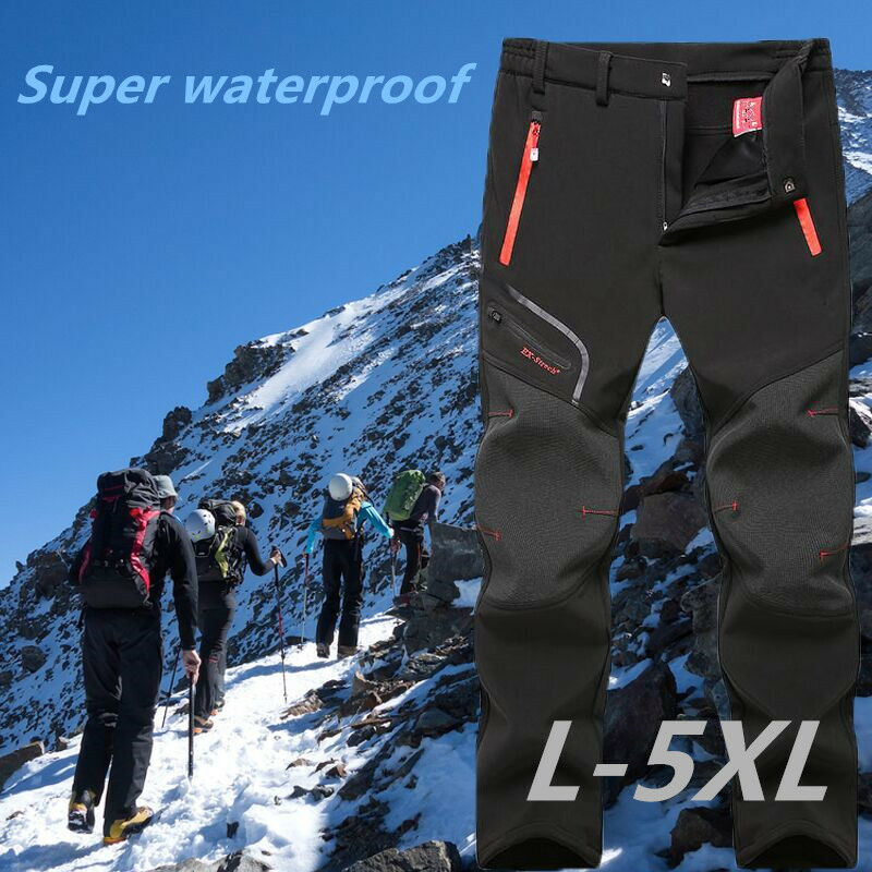 Men's Outdoor Waterproof Camping Trekking Hiking Climbing Skiing Sport Pants New