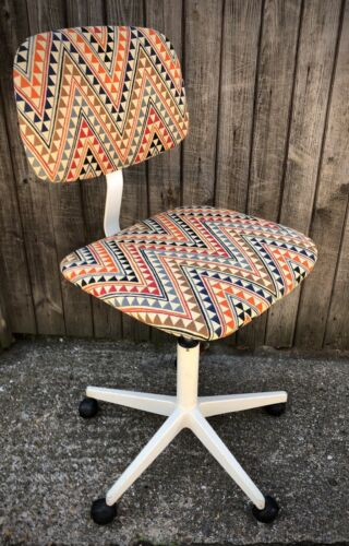 VINTAGE OFFICE CHAIR RETRO ADJUSTABLE DESK CHAIR