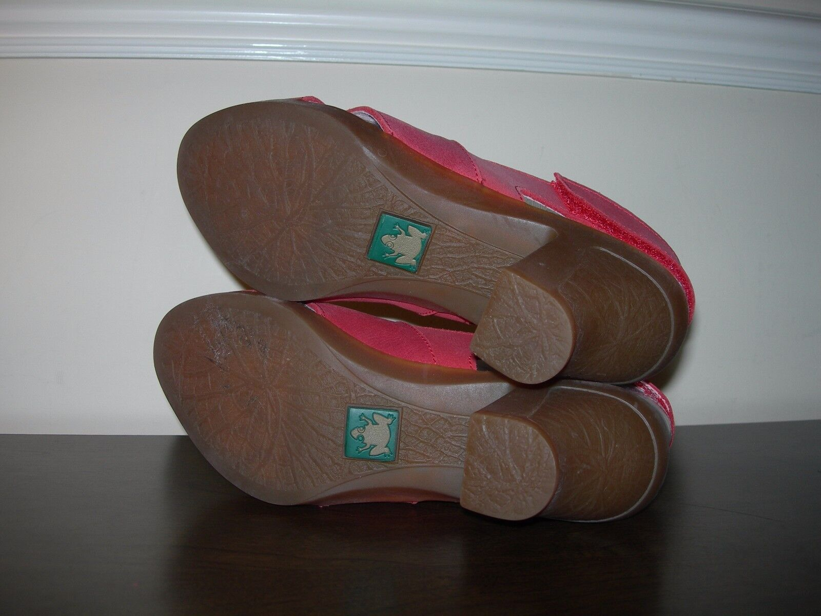 EL NATURALISTA WOMEN'S Schuhe SANDALS SLINGBACKS 37 PALE ROT LEATHER EU 37 SLINGBACKS / UK 4 a0c5dc