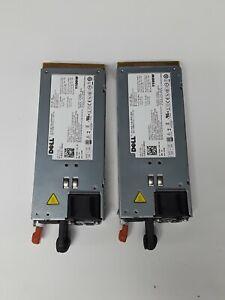 2-Dell-PowerEdge-R510-T710-R910-Server-1100W-Power-Supply-Unit-3MJJP-TCVRR