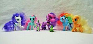 Lot of 7 G4 My Little Pony 2016 Friendship is Magic MLP FIM Ponies Bundle