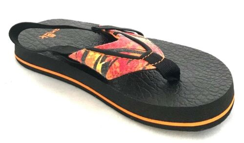 9a86b8e4464d 5 of 12 Sanuk Root Beer Cozy Funk Boys Toddler Flip Flops Sandals with Back  Strap 10