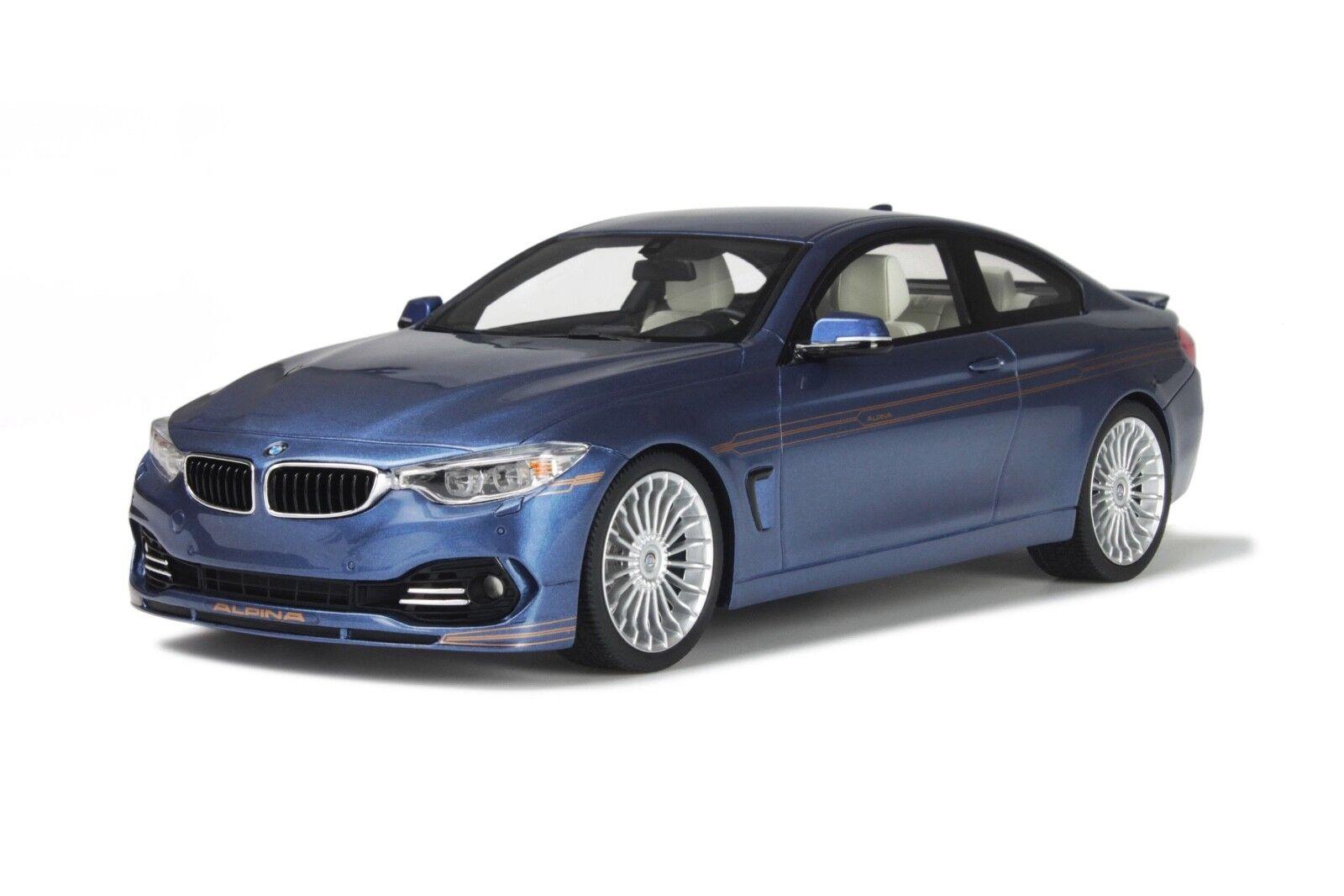 BMW Alpina B4 BITURBO Bleu F32 2014 BMW ALPINA B4 1 18 GT Spirit GT090