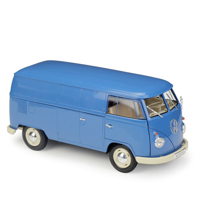 1 18 1963 Volkswagen Bus T1 (fourgon) Diecast modèle de voiture véhicule collection