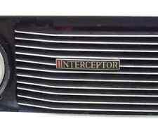 Jensen Interceptor Bonnet 2675 Grille Real Photo A4 Metal Sign Aluminium
