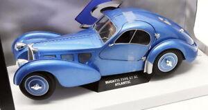 Solido-1-18-Scale-S1802102-Bugatti-Type-57-SC-Atlantic-Metallic-Blue
