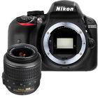 NEW Nikon D3300 24.2 MP CMOS Digital SLR + 18-55mm f/3.5-5.6G AF-P DX VR Lens