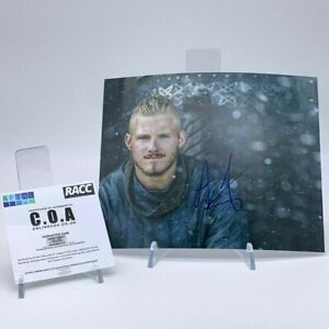 ALEXANDER-LUDWIG-Signed-10x8-Photo-VIKINGS-AFTAL-OnlineCOA