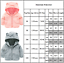 Kinder Mädchen Junge Fleecejacke Winterjacke Kapuzen Mantel Parka Schneejacke