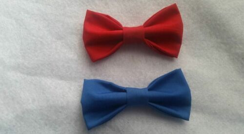 Select Your Color Little Boy Toddler Bow Ties Clip on or hook and loop closure