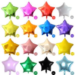 Lamina Stella Forma Palloncino Per Compleanno Festa, Anniversari, Decorazioni,