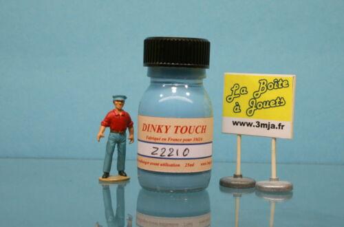 22210 - Peinture Dinky Touch bleu  pour Simca 1500 berline  Dinky Toys 503