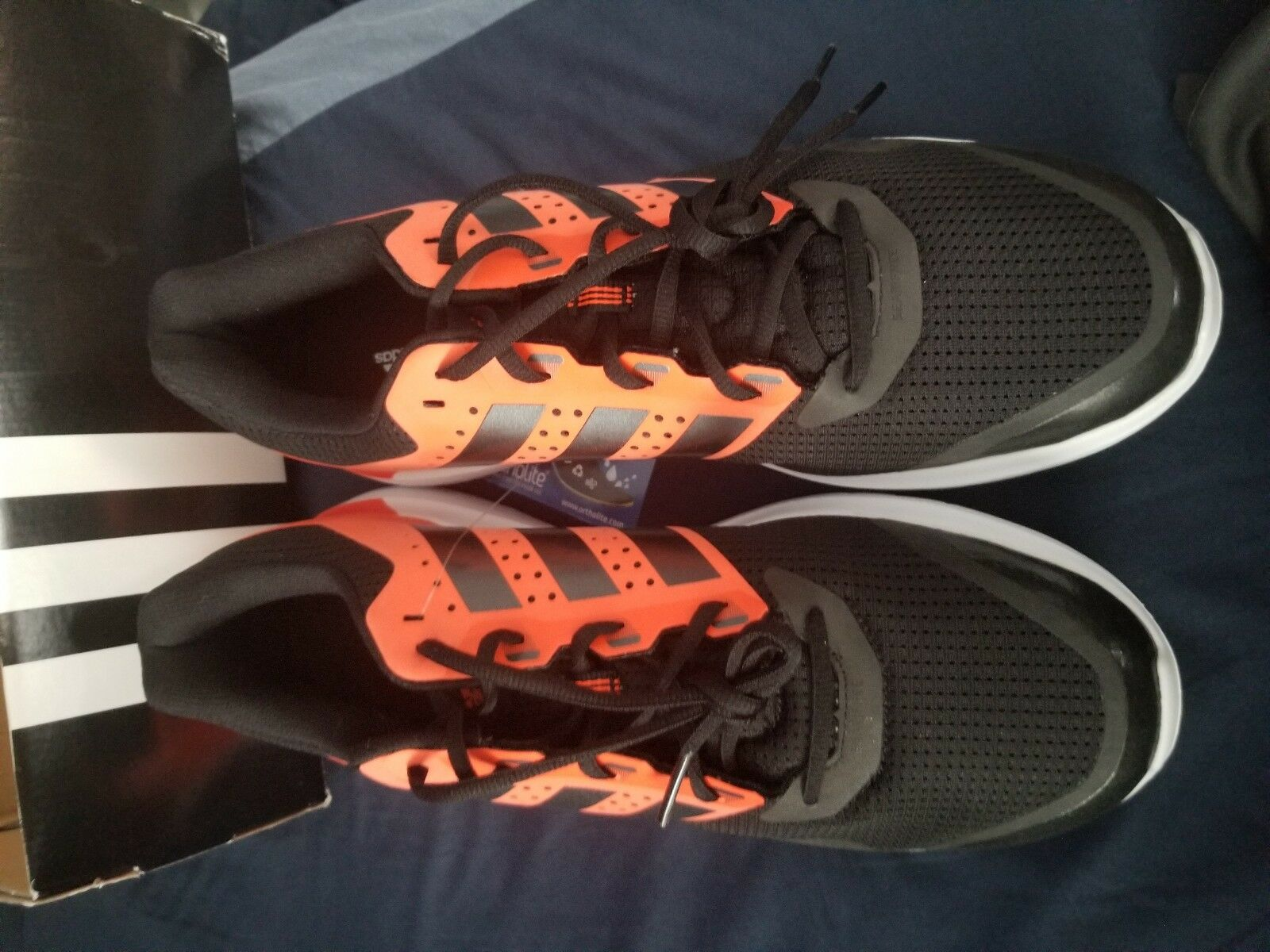 Brand New Adidas Duramo 7 M Running Shoes Performance Comfortable Wild casual shoes