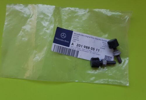 Mercedes-Benz W201 C126 R107 W116 A2019880511 Hood Bonnet Stop Buffer Set of 2
