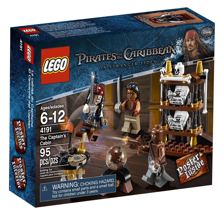 LEGO Pirates des  voitureaïbes 4191 - Captain's Cabin - NEUF nouveau, SCELLÉE SEALED  plus vendu