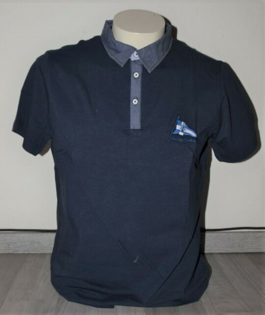 PRODIGY Poloshirt Polo Polohemd Kurzarm Gr L//52 nachtblau blau marine