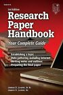 Research Paper Handbook: Your Complete Guide by Jr, James D Lester (Paperback / softback, 2005)