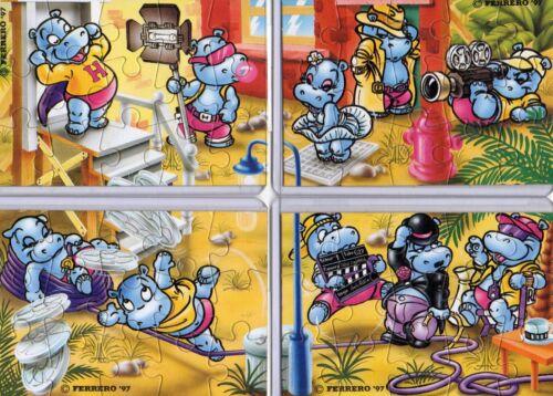 Superpuzzle//Puzzle-Ü-EI//Überraschungsei-FERRERO-DEUTSCH-KOMPLETT BPZ-ab EUR 1